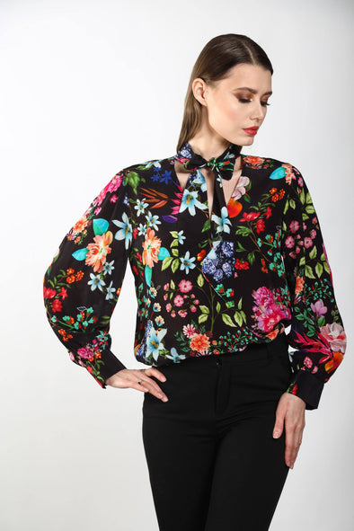 EDEN - BOHEME SHIRT WITH NECK TIE