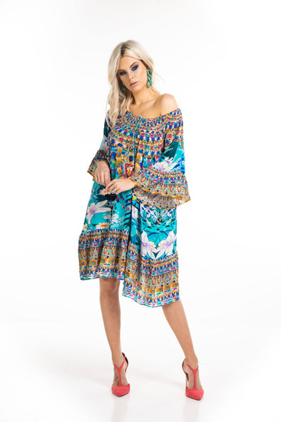 AQUA LUNA - GYPSY DRESS