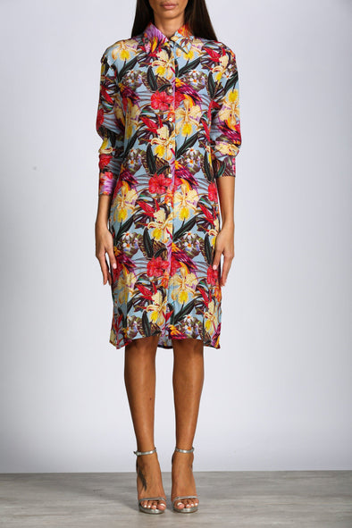 OAHU FLORAL - SHIRT DRESS