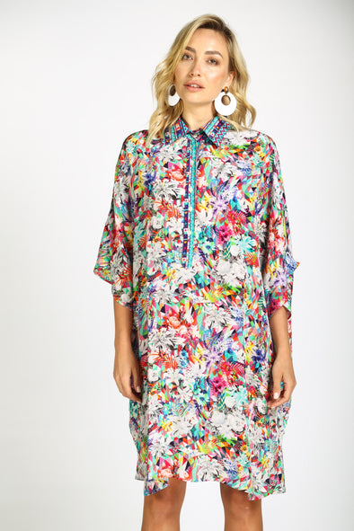 THE ARIA - FLOWING SHIRT DRESS