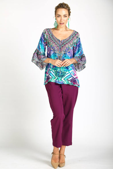 INDIGO SUMMER - GYPSY TUNIC