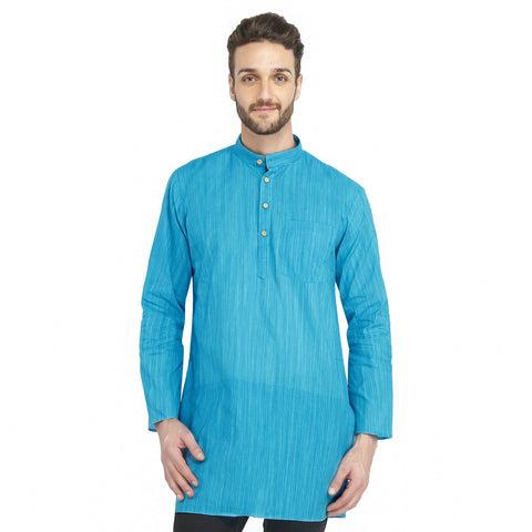 Bhartiya Paridhan Men's Handloom Cotton Modi Kurta