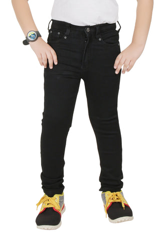 Boys Denim Black Jeans By Clench