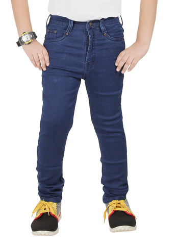 Boys Denim Blue DX Jeans By Clench