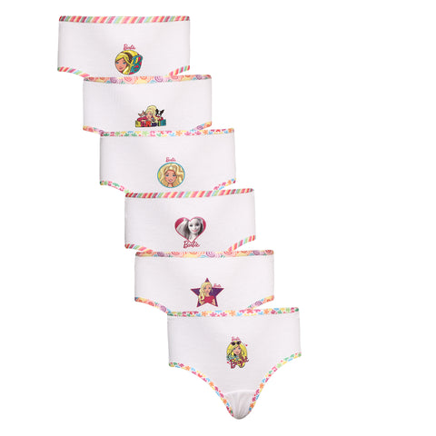 Red Rose Girls Cotton Panties- Pack Of 6