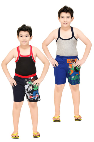 Boy's Cotton Boxer By Red Ring-Pack Of 2pc.