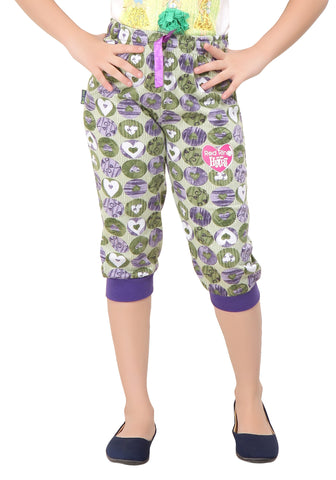 Girl's Cotton Capri By Red Ring