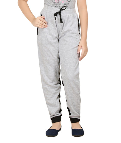 Girl's Cotton Track Pant By Red Ring