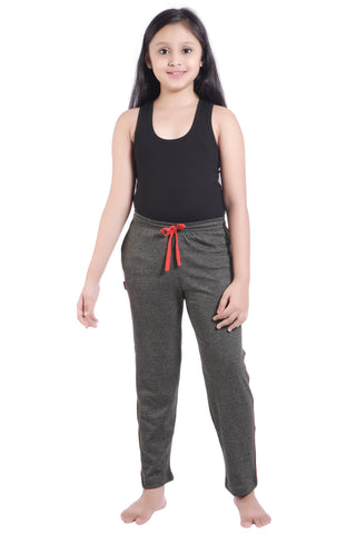 Girl's Trendy Track Pants By Red Ring