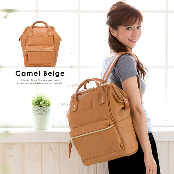 anello Backpack AT-B1211 (Camel Beige)