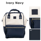 anello Backpack AT-B1211 (Ivory/Navy)