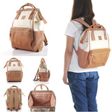 anello Backpack AT-B1211 (Ivory/Pink)