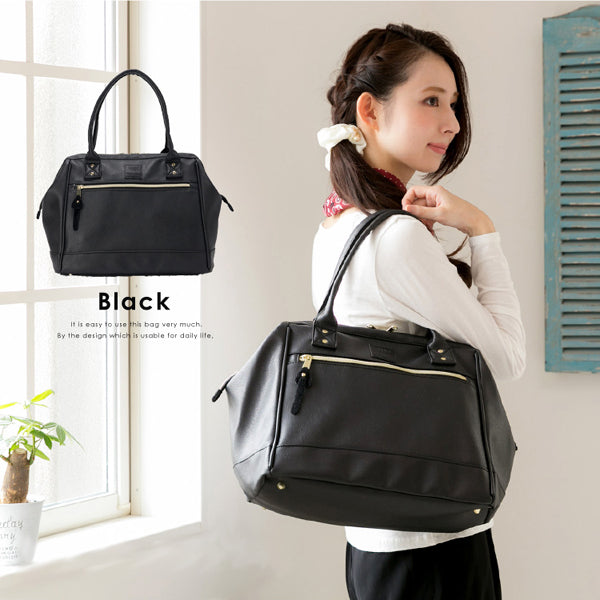 anello Boston Bag AT-B1213 (Black)