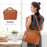 anello Boston 2-Way Shoulder Bag AT-H1022 (Camel)