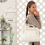 anello Boston 2-Way Shoulder Bag AT-H1022 (Ivory)
