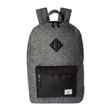 Herschel Heritage Backpack (Raven Crosshatch & Black) 21.5L