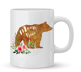 Mama Bear Watercolor Coffee Mug - 11 oz - Coffee Mugs - AKA Style Co - 1