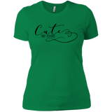 Cute but Psycho Ladies T-Shirt XS-3XL - Kelly Green / X-Small - Short Sleeve - AKA Style Co - 5