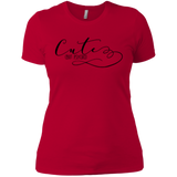 Cute but Psycho Ladies T-Shirt XS-3XL - Red / X-Small - Short Sleeve - AKA Style Co - 7