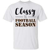 Classy til Football Season Ladies or Unisex T-Shirt S-3XL -  - T-Shirts - AKA Style Co - 4