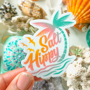 Salt Hippy Vinyl Sticker - Palm Trees