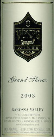Viking Grand Shiraz 2003 6L, Barossa Valley