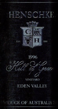 Henschke Hill of Grace Shiraz 1996 750ml, Eden Valley
