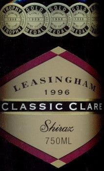 Leasingham Classic Clare Shiraz 1996 750ml, Clare Valley