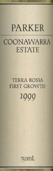 Parker Estate Terra Rossa First Growth Cabernet Sauvignon 1999 750ml, Coonawarra