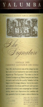 Yalumba The Signature Cabernet Sauvignon Shiraz 1999 1.5L, Barossa Valley