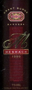 Grant Burge Meshach Shiraz 1999 750ml, Barossa Valley