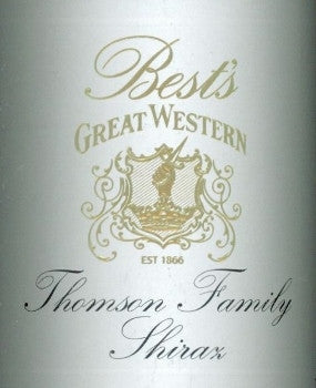 Best's  Great Western Thomson Family Shiraz 2001 750ml, Grampians