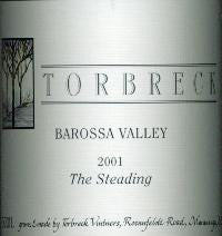 Torbreck The Steading Grenache Shiraz Mourvedre 2001 750ml, Barossa Valley