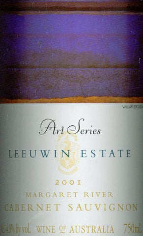 Leeuwin Estate Art Series Cabernet Sauvignon 2001 750ml, Margaret River