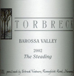 Torbreck The Steading Grenache Shiraz Mourvedre 2002 Double Magnum 3L, Barossa Valley