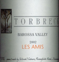 Torbreck Les Amis Grenache 2002 750ml, Barossa Valley