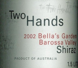 Two Hands Bella's Garden Shiraz 2002 Double Magnum 3L, Barossa Valley