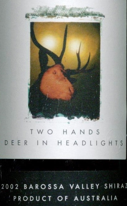 Two Hands Deer in Headlights Shiraz 2002 3L, Barossa Valley