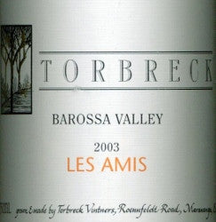 Torbreck Les Amis Grenache 2003 750ml, Barossa Valley