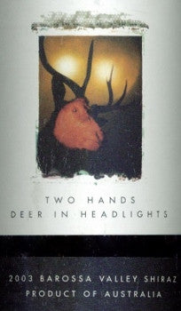 Two Hands Deer in Headlights Shiraz 2003 magnum 1500ml, Barossa Valley