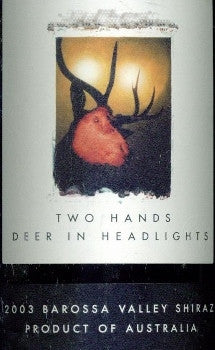 Two Hands Deer in Headlights Shiraz 2003 imperial 6L, Barossa Valley