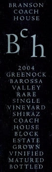 Branson Coach House Block Shiraz 2004 750ml, Barossa Valley