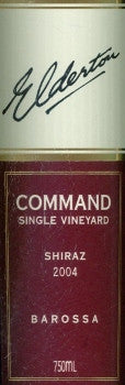 Elderton Command Shiraz 2004 750ml, Barossa Valley