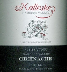 Kalleske Old Vine Grenache 2004 750ml , Barossa Valley