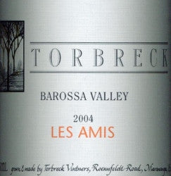 Torbreck Les Amis Grenache 2004 750ml, Barossa Valley