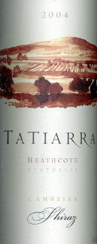 Tatiarra Cambrian Shiraz 2004 750ml, Heathcote