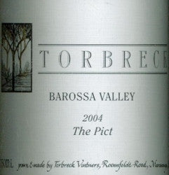 Torbreck The Pict Mataro 2004 750ml, Barossa Valley