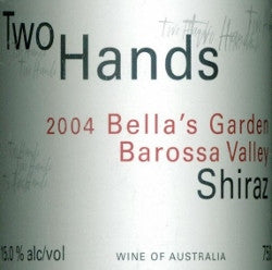 Two Hands Bella's Garden Shiraz 2004 750ml, Barossa Valley