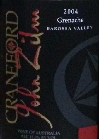 Craneford Estate Grenache 2004 1.5L, Barossa Valley