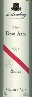 d'Arenberg The Dead Arm Shiraz 2004 750ml, McLaren Vale